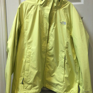 The North Face Windbreaker  - Large - Yellow